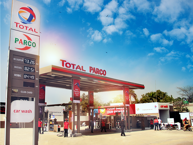 total parco inaugurates 500th new design petrol station erpecnews live. Black Bedroom Furniture Sets. Home Design Ideas